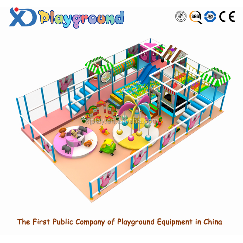 Intellectual game for kids Indoor amusement parks mini indoor kids playgrounds kiddie indoor playground for sales