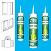 JY910 high adhesion fast curing construction silicone sealant for decoration