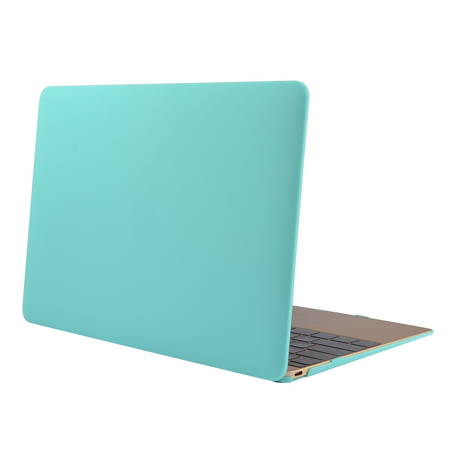 Swees® 12 inch Ultra Slim Scrub Frosted Plastic Hard Shell Case for 12'' Apple The New Macbook with Retina (2015 New Release Model A1534) , Smooth Matte Finish , Green