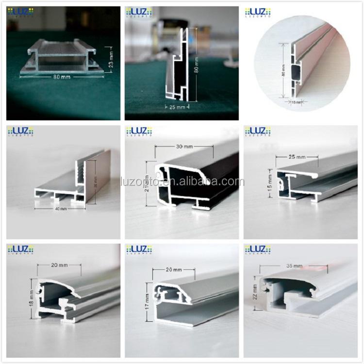 Backlit LED textile light box decoration, fabric light box LED