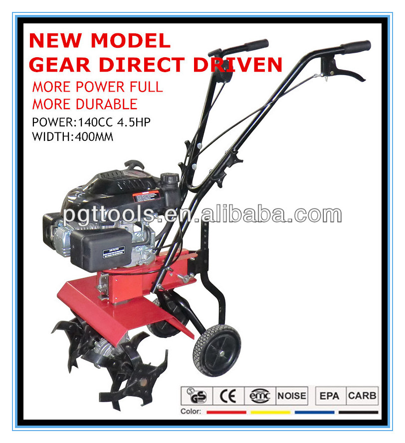 4.5HP Gear Direct Driven Micro Tiller Planter For Sale