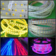 LED flexible tape strip light 110v 120v 220v 230v 5050 3528 SMD RGB warm white color led strip lights with remote controller