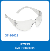 Outdoor/indoor protection z87 safety glasses en166