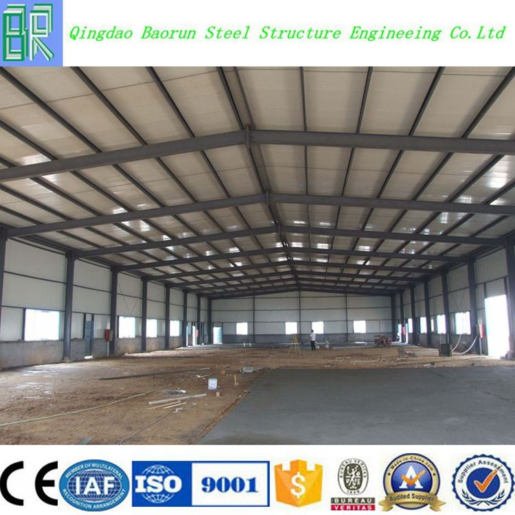Light Prefabricated Steel Workshop