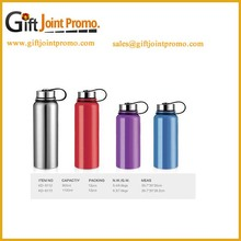 Double-wall Stainless Steel Sports Water Bottle with SS cap