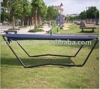 Camping outdoor hammock with steel stand