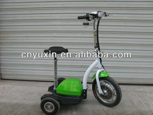 3 wheel electric trike motor scooter for adult with CE certificate YXEB-712