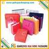 Guangzhou Coloured Paper Gift Bags With Rope Handle