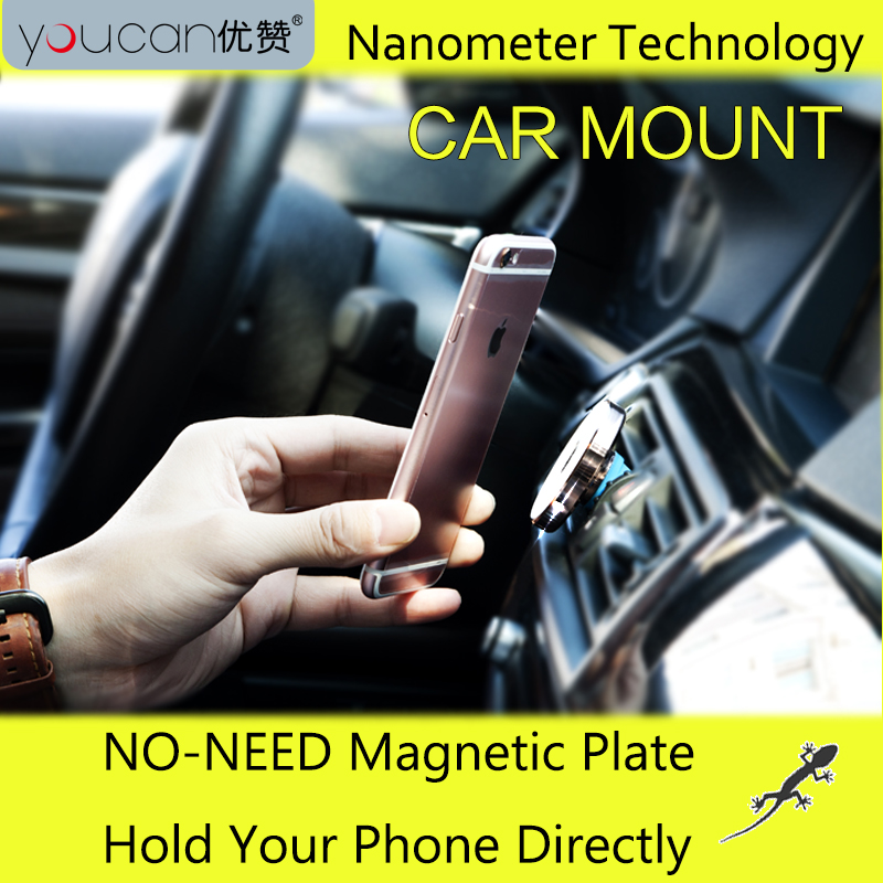 micro suction air vent smartphone support car magnetic