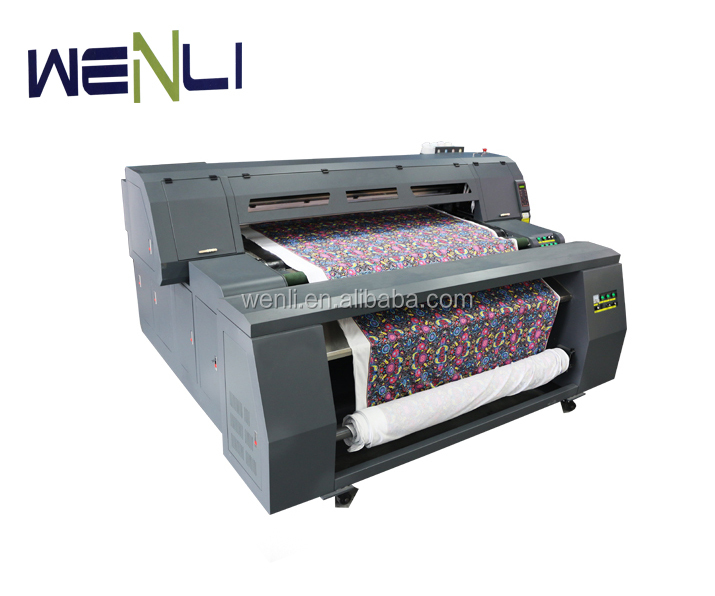 industrial large format inkjet printer roll to roll digital textile printing machine