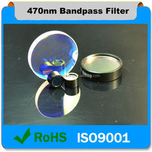 470nm Fluorescence Interference Bandpass Longpass Filter For Semiconductor Fabrication and Inspection