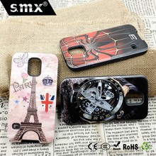 Colorful 2 In 1 PC TPU Printed OEM Phone Case For Samsung S5