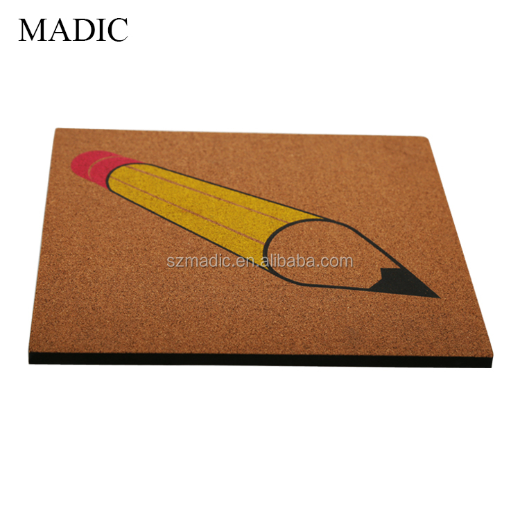 Custom Printed Cork Board School Soft Memo Boards For
