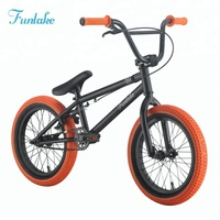 Funlake custom all kinds of cheap price racing street bicycle flatland bicicletas halfpipe 16'' bmx freestyle bikes mini bmx