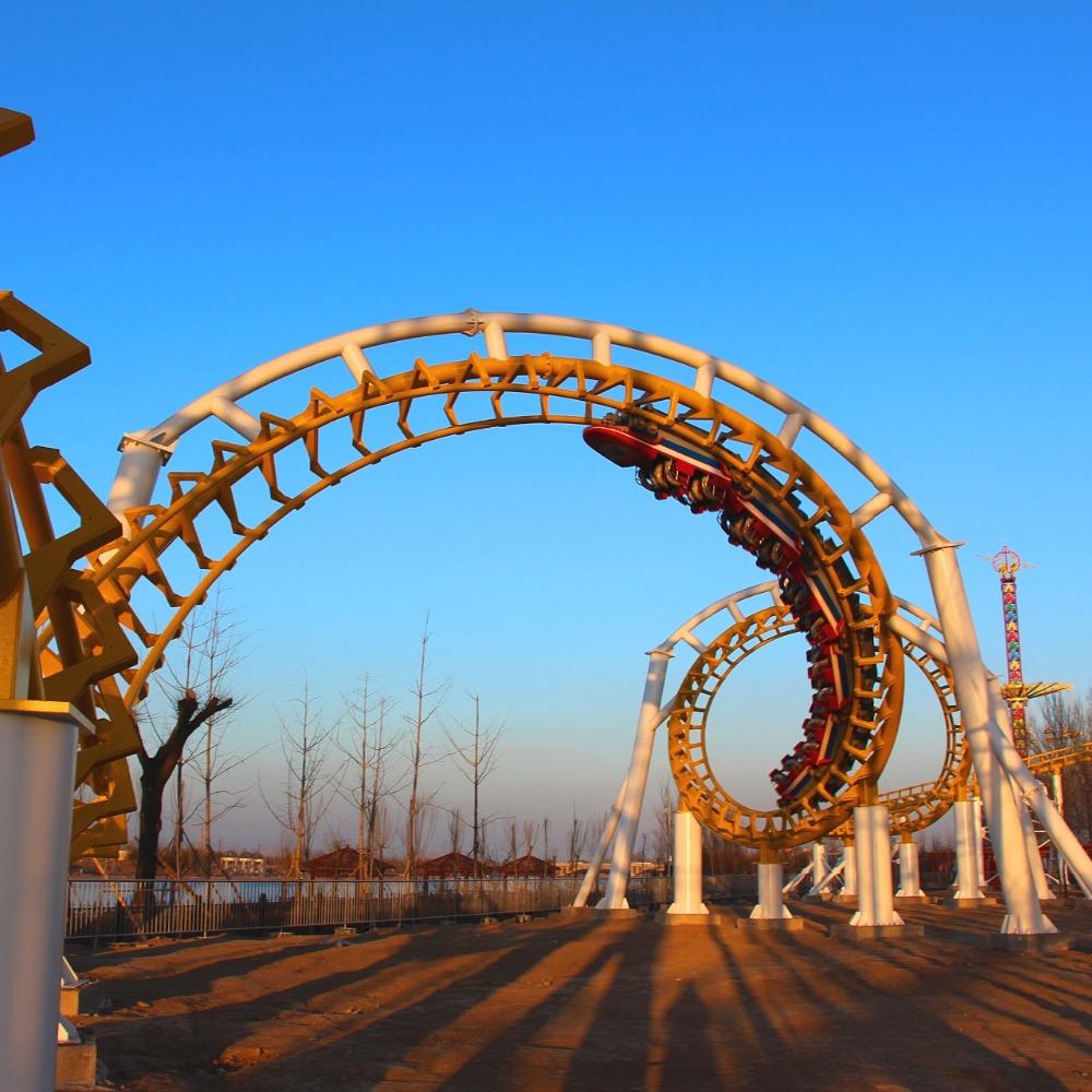 China hersteller big six loops achterbahn auto für verkauf-andere ...