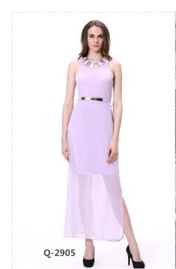 1feb0fcceb Long Sleeve Chiffon Floral Printed Maxi Dress Ladies Summer Casual Dresses