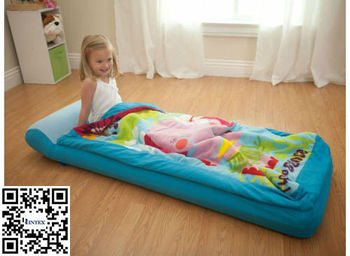 Intex 66802 Air Bed Travel Mattress With Sleep Bag For Kids