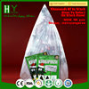 Biodegradable certificate disposable christmas tree bag/christmas tree disposal bag/christmas tree removal bag