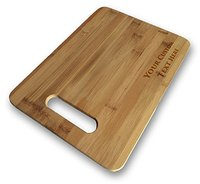 Various Custom Personalized Laser Engraved Bamboo Cutting Board