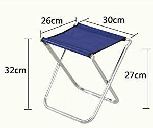 Buy Wwj Portable Folding Fishing Stool Bench Bench Metal