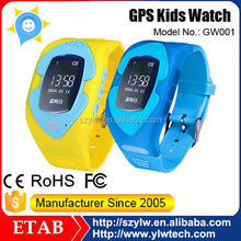 Factory Since 2005 Hot Selling Hight Quality New Gsm Smart Phone Tracking Waterproof Gps Tracker Watch Kids
