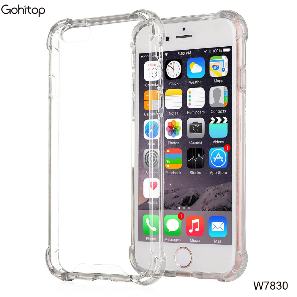 Tpu Clear Case For Iphone 7,Shockproof Back Cover For Iphone 7 ...