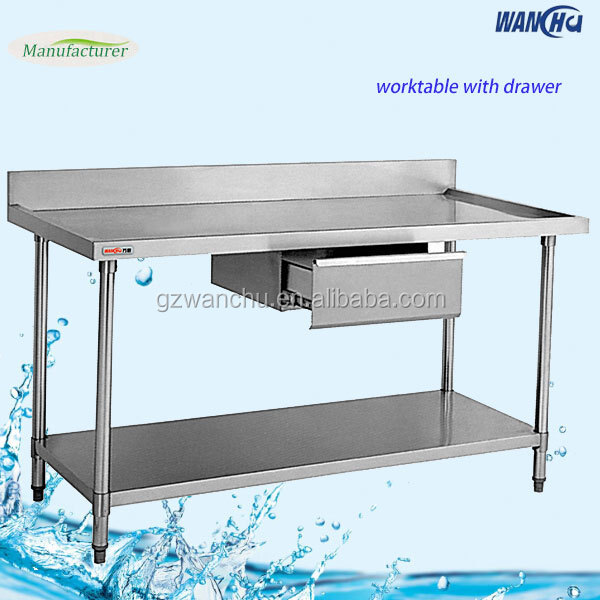 Charmant Stainless Steel Fish Cleaning Table/work Table With Undershelf   Buy Stainless  Steel Fish Cleaning Table,Stainless Steel Table,Work Table Product On ...