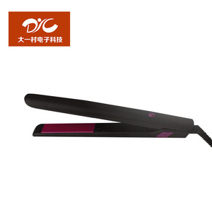 New 2018 professional ceramic display LED flat iron protein hair straightener