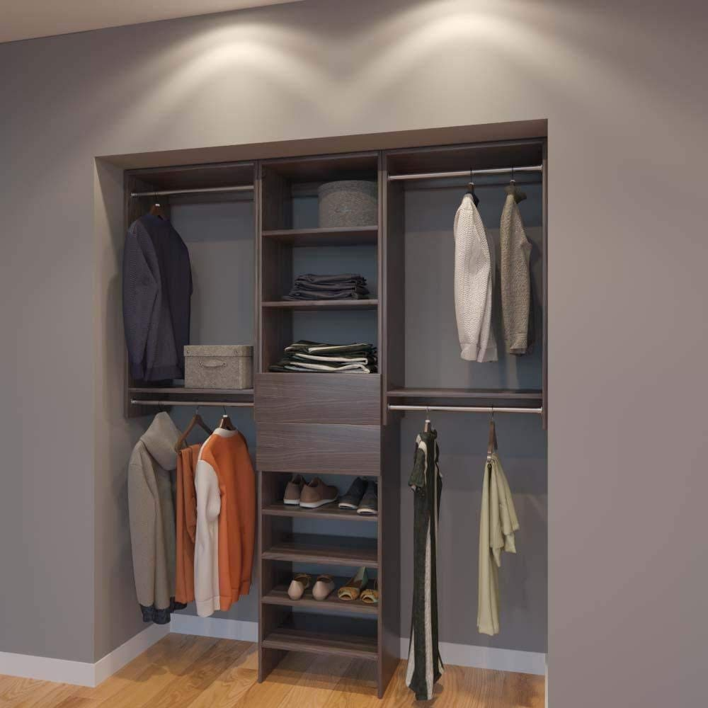 Get Quotations · Modular Closets 6 FT Closet Organizer System   72 Inch    Style B