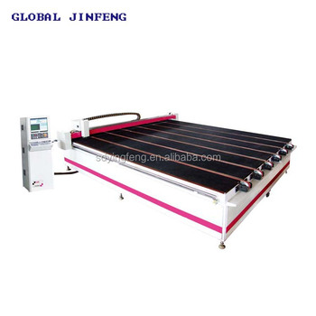 JFC-2620 Glass Semi-automatic CNC water jet Cutting machine price