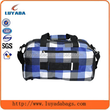 China Suppliers Hot Sale 600d Blue And White Plaid Design Cricket ...