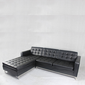 leather sofa lounge | Baci Living Room