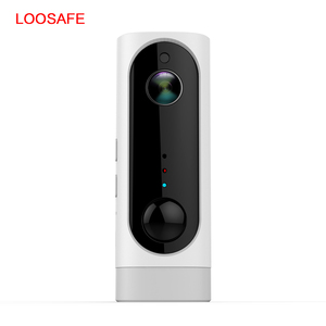 loosafe 720P Low-power battery wireless IP camera two-way voice intelligent motion detection alarm rechargeable Wifi IP camera