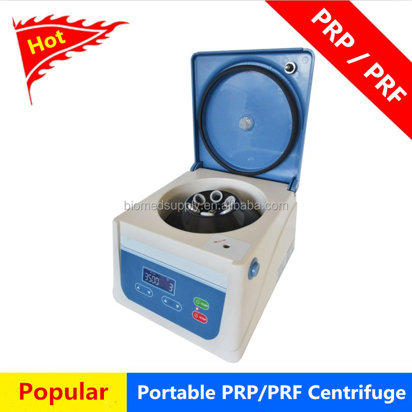 Portable Small centrifuge prp with 8 tubes 10ml angle rotor PRP equipment