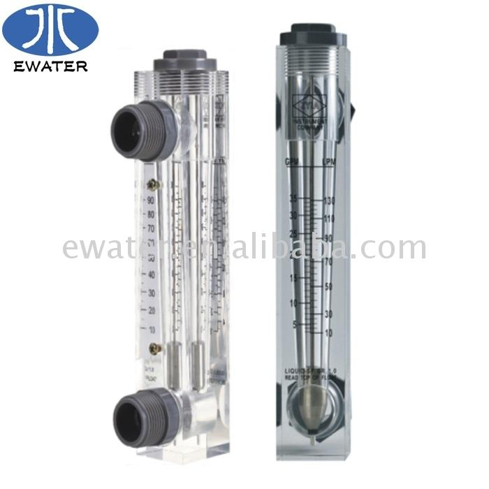 Factory price plastic ethylene glycol flow meter