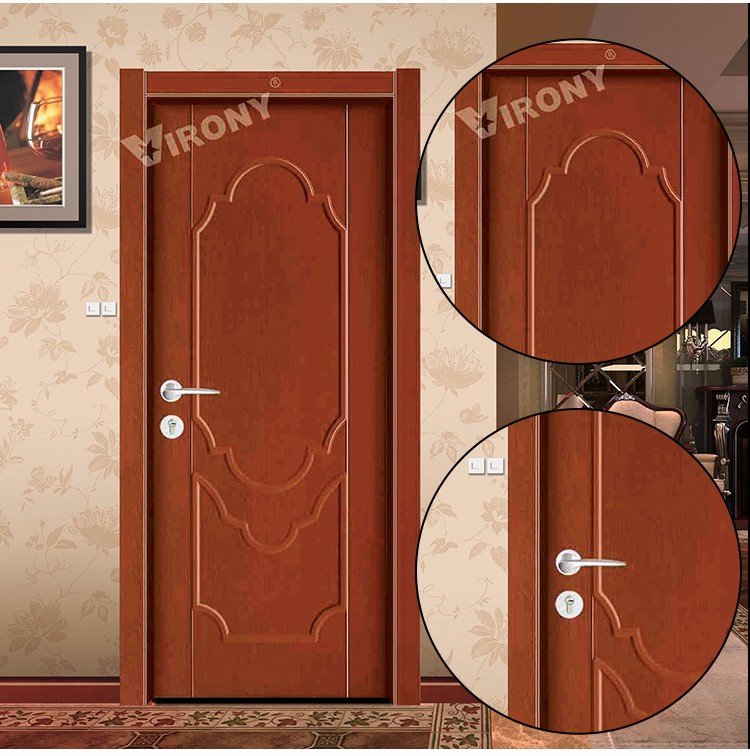 China factory fancy elegant wooden single main door design for Elegant main door designs
