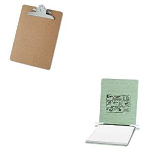 KITACC54115UNV40304 - Value Kit - Acco Pressboard Hanging Data Binder (ACC54115) and Universal 40304 Letter Size Clipboards (UNV40304)