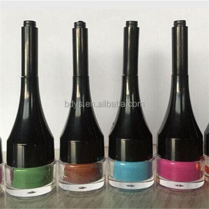 Fashion color shining eyebrow gel private label cosmetic makeup for life high density easy to color eyebrow gel