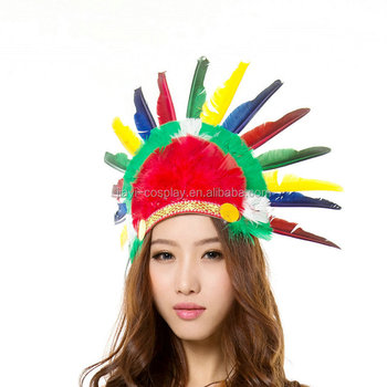 Adult Fashion Indian Headdress Indian Chief Hat - Buy Indian Chief  Hat,Headdress,Fashion Indian Headdress Product on Alibaba com