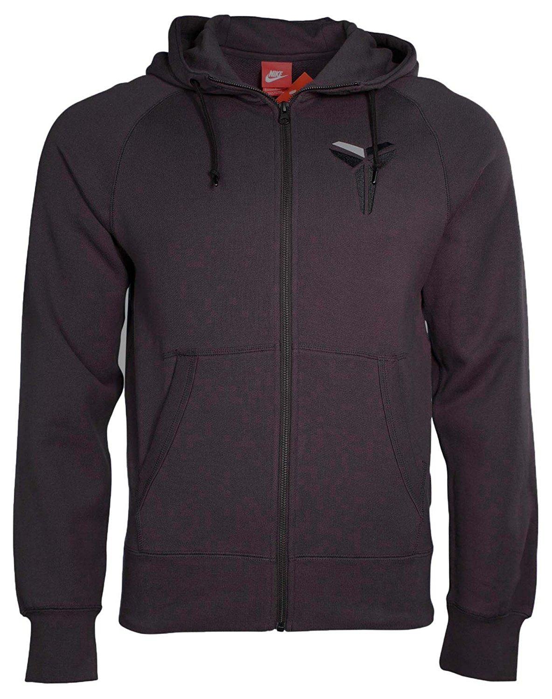 d920664f87ca Get Quotations · Nike Men s KOBE AW77 Full Zip Basketball Hoodie-Purple