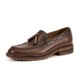 Factory direct custom made new style slip on men leather dress shoes men