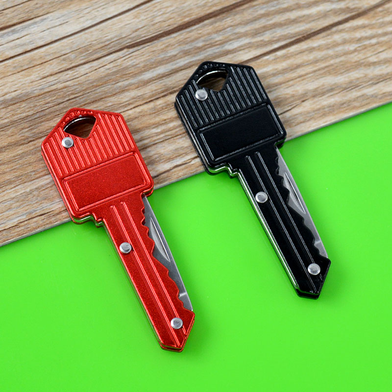 Multi Function Folding Pocket Camping Knife Key Chain Knife