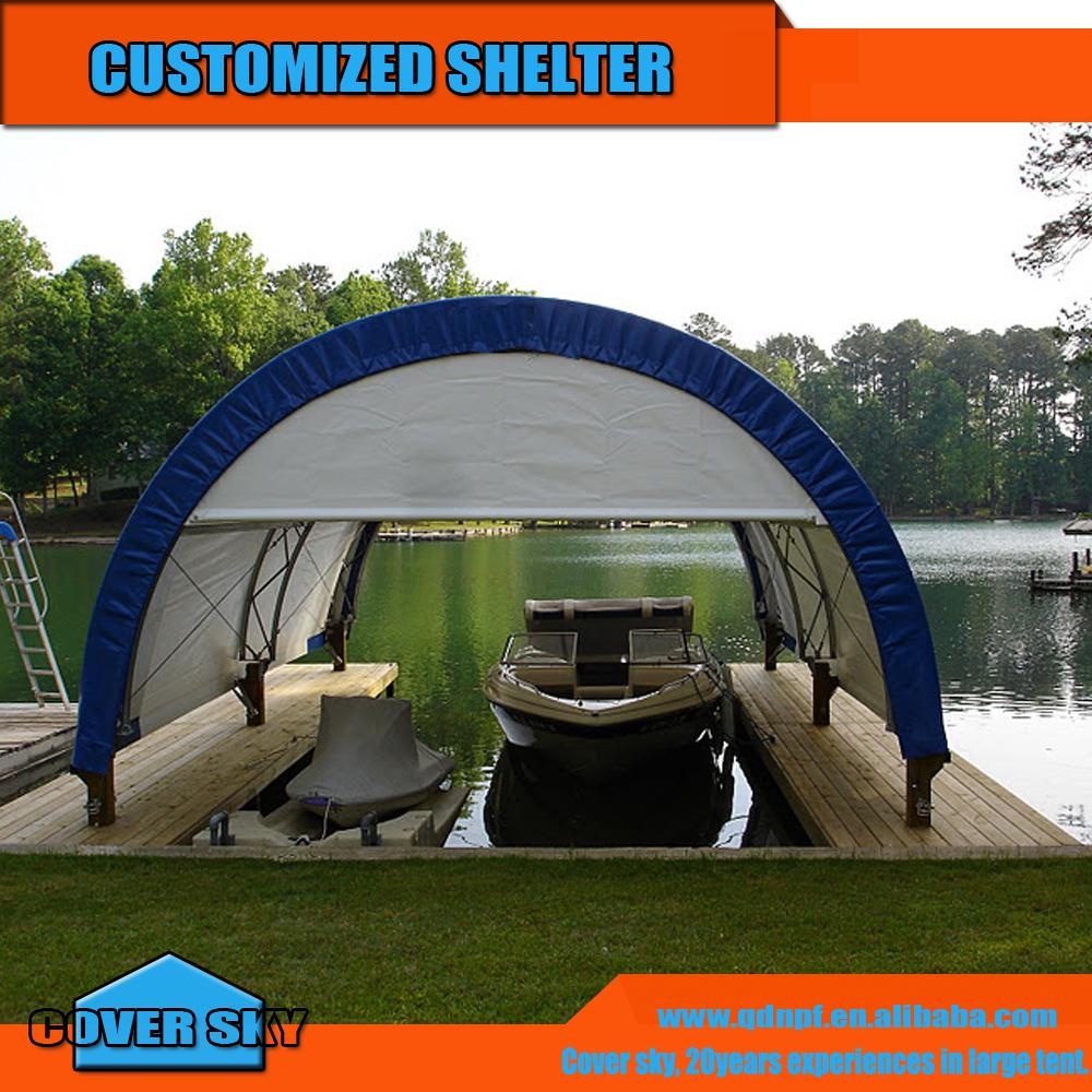 Metal Frame Mobile Boat Tent