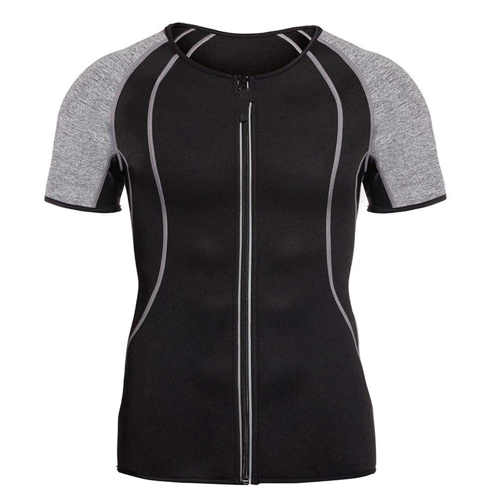 368d18f7dd7ec Get Quotations · MZjJPN Body Shaper for Men Neoprene Slimming Shapewear  Elastic Sauna Suit Waist Trainer Vest for Weight