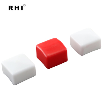 Soft PVC Square Tube End Caps Flexible Vinyl Caps for Square Pipes