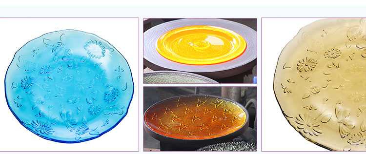 glass charger palte/dishes/plate sets wholesale with high quality
