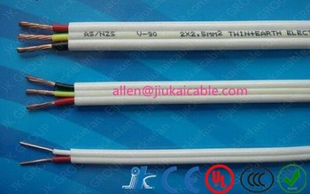 PVC Insulated Tough Plastic Sheathed Wire 6 Square Mm Twin Earth Flat TPS Cable