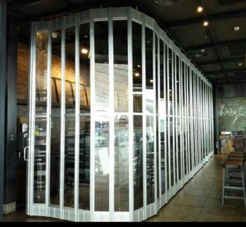 Commercial Polycarbonate Rolling Shutter Door Interior Roll Down Doors Grille