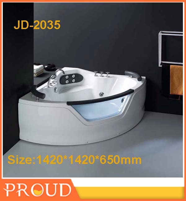 Corner bathtub whirlpool bathtub with jetted tubs