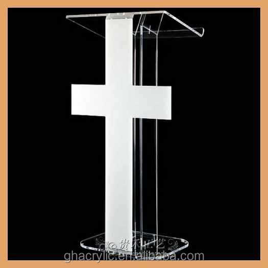 Factory Outlet Oem Acrylic Church Pulpit Designs Glass Pulpit ...